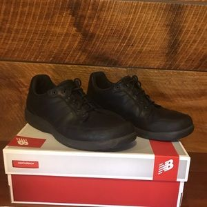 Men's leather New Balance shoes 12 Wide